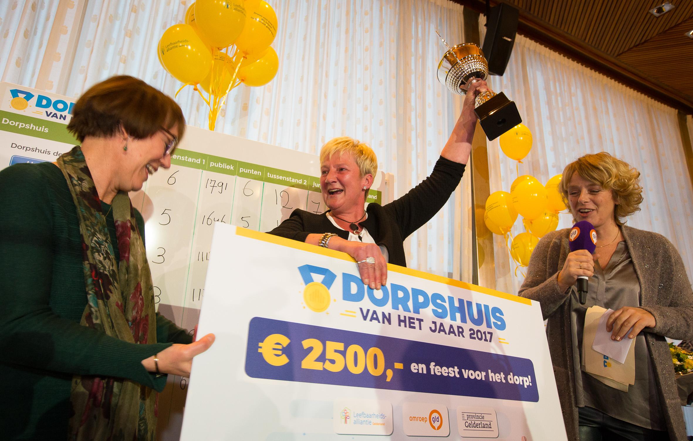 De winnaar van 2017 is BMV Mariënvelde